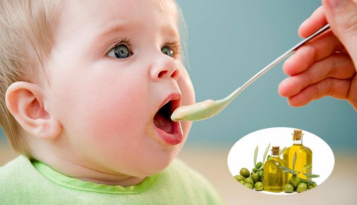 Giai đoạn sử dụng dầu ăn cho bé ăn dặm