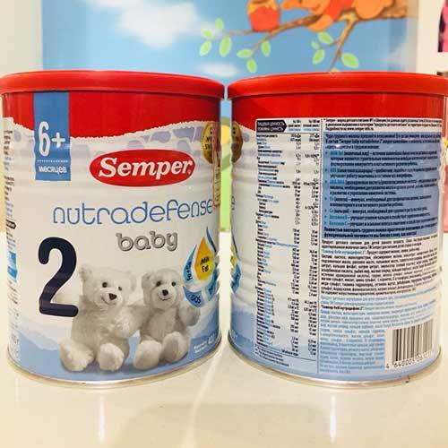 Sữa Semper số 2