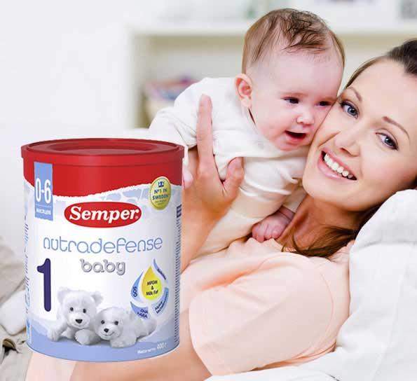 Ưu điểm của sữa Semper
