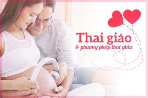 Thai giáo cho bé