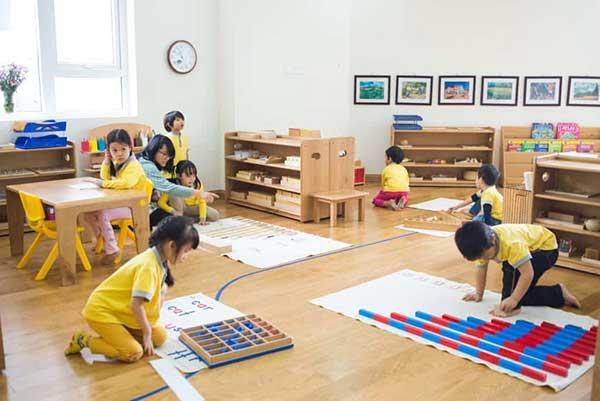 Ưu điểm của phương pháp Montessori