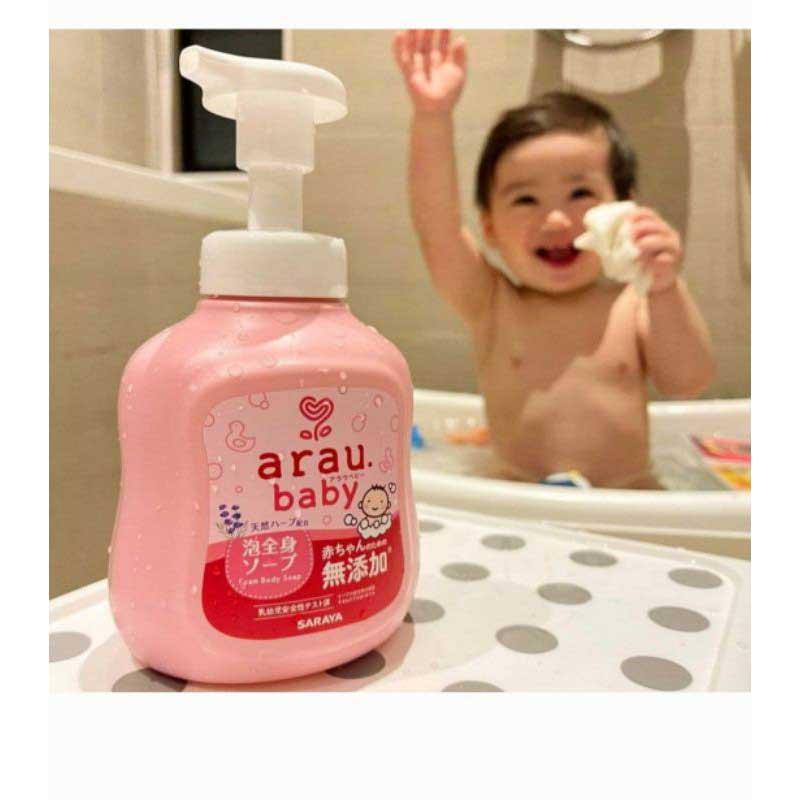Ưu điểm của sữa tắm Arau