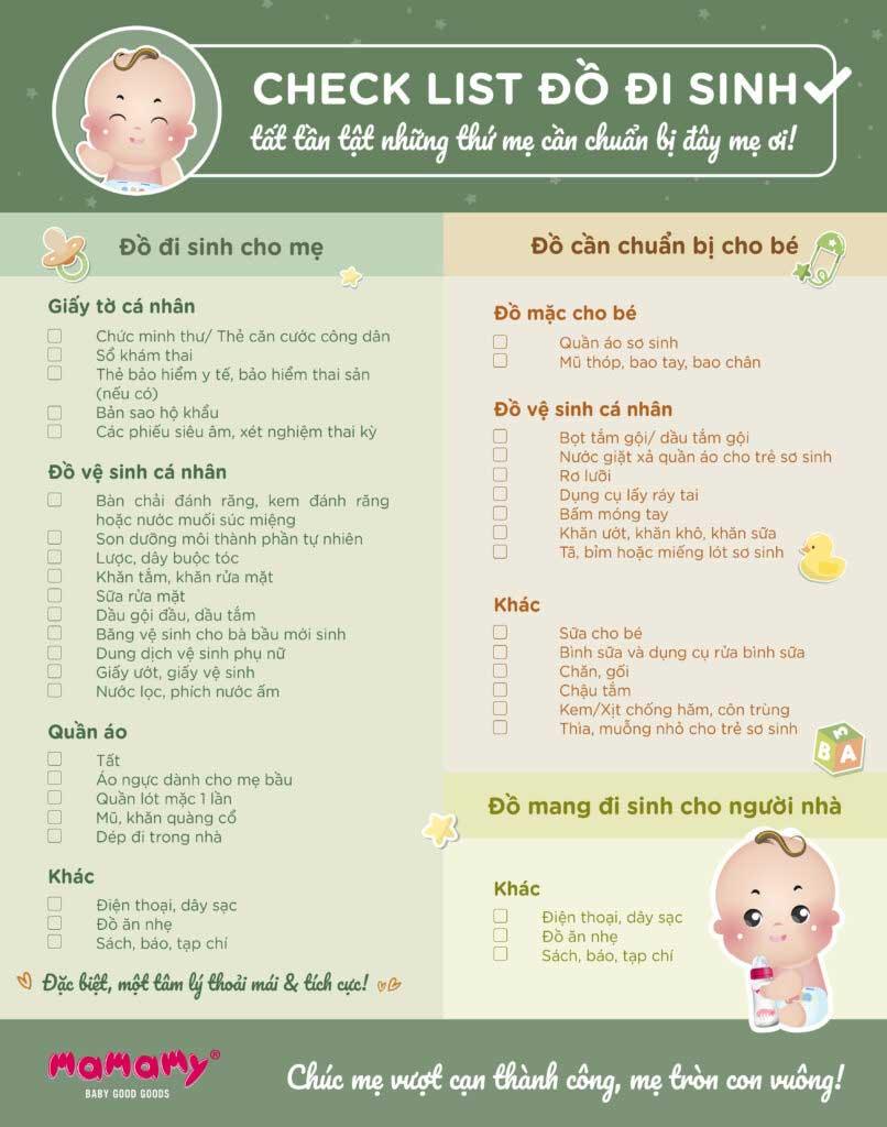 Checklist Giay To Khi Di Sinh