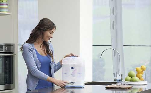 Ưu điểm của máy tiệt trùng sấy khô hâm sữa
